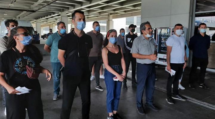 Sabiha Gökçen Havalimanı'nda işten çıkarmalara karşı eylem