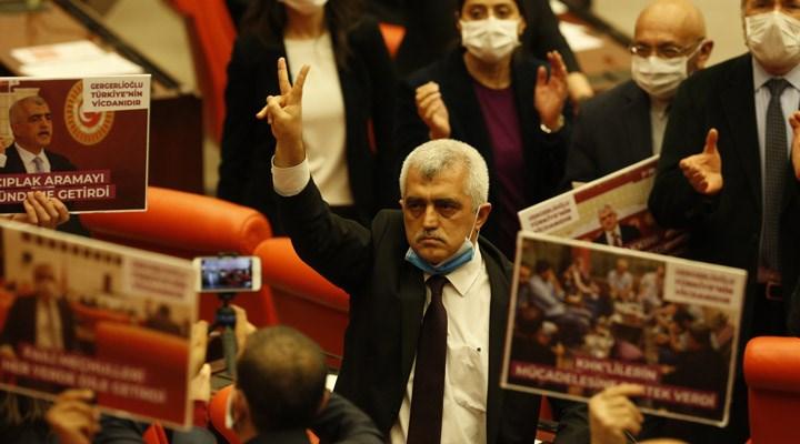 HDP'li Ömer Faruk Gergerlioğlu tahliye edildi