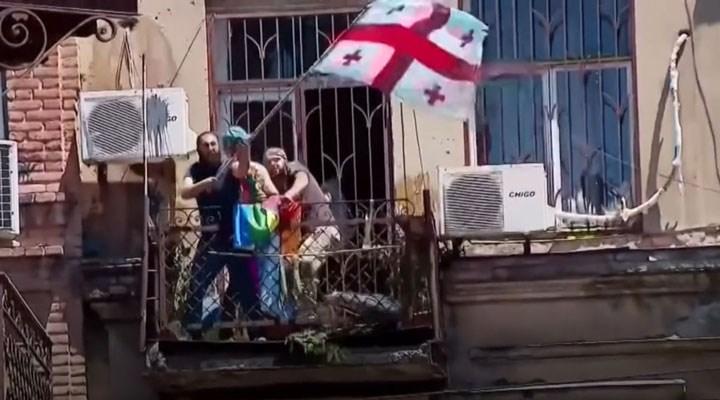 Gürcistan'da sağcıların saldırısı ardından Onur Yürüyüşü iptal edildi