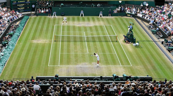 Wimbledon'da son çeyrek final eşlemesi belli oldu