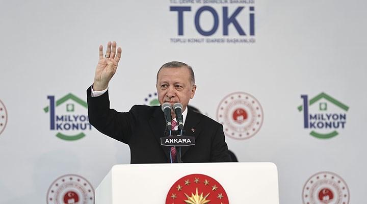 Erdoğan, TOKİ töreninde de seçim konuşması yaptı: 2023 kritik öneme sahip