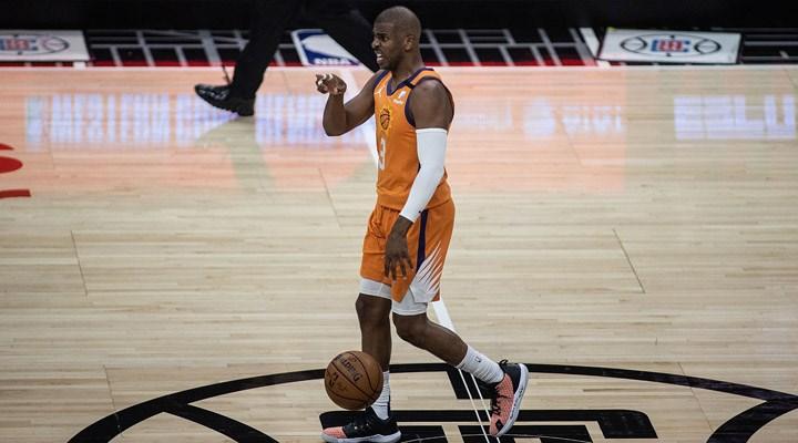 NBA final serisinin ilk maçında kazanan Phoenix Suns