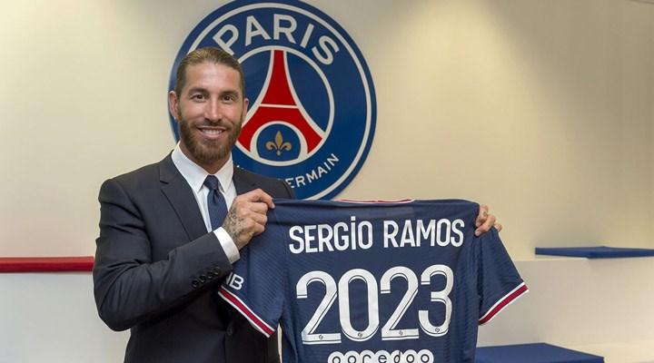 PSG, Sergio Ramos'u kadrosuna kattı