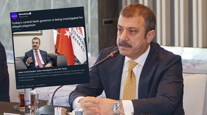 BirGün'ün Şahap Kavcıoğlu'nun doktora tezine ilişkin haberi dünya basınında