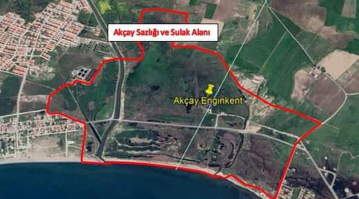 Akçay Sazlığı ve Sulak Alanı ranta açılıyor: En az 60 bin metrekarelik kısmına villa projesi inşa edilecek
