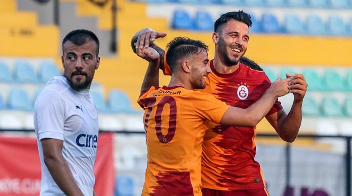 Galatasaray, hazırlık maçında Kasımpaşa'yı yendi