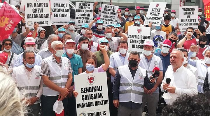 İşçiler grevle nefes alıyor