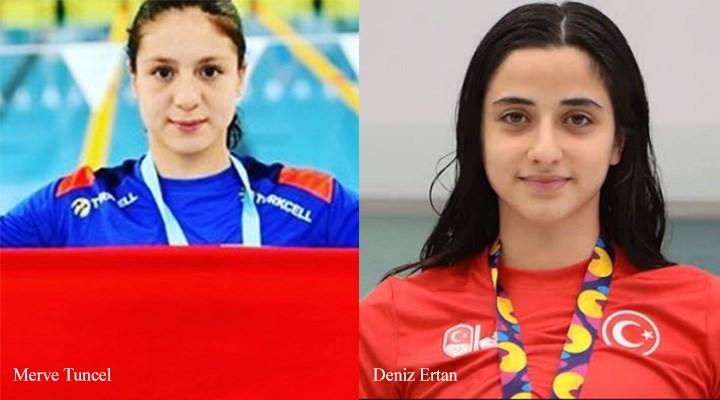 Yüzücü Merve Tuncel, gençlerde rekor kırarak Avrupa şampiyonu oldu