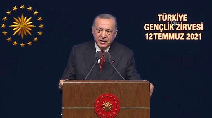 Erdoğan, Türkiye Gençlik Zirvesi'nde konuştu: 'Dava taşını gediğine koyacak' bir gençlik geliyor