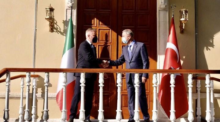 Bakan Akar, İtalyan mevkidaşı ile görüştü