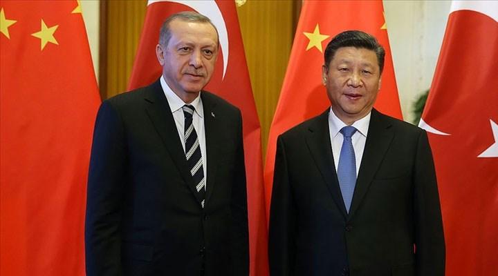 Erdoğan ile Cinping telefonda görüştü