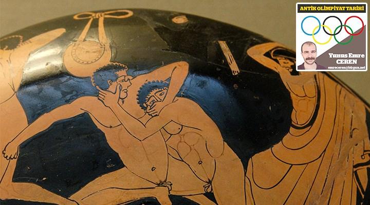 Eski Yunan'da antik olimpiyatların düzenlenmesi
