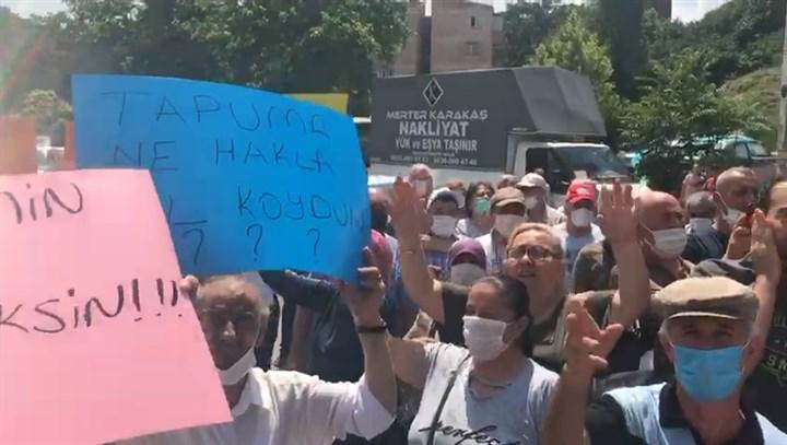 Tozkoparan halkı, TOBİM önünde: Tapularımız nerede?