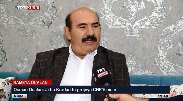 AKP'den Osman Öcalan savunması: TRT'ye değil TRT Kurdi'ye çıktı