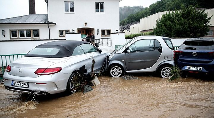 Almanya'da sel felaketi: 58 kişi yaşamını yitirdi
