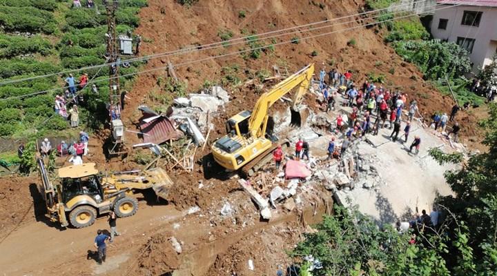 CHP'li Öztunç: Rize genelinde acilen afet bölgesi kararı alınmalı