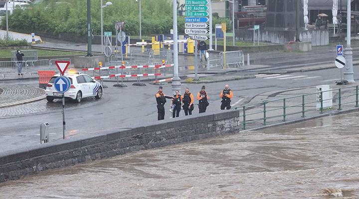 Şiddetli yağışlar Belçika'yı da vurdu: 9 can kaybı