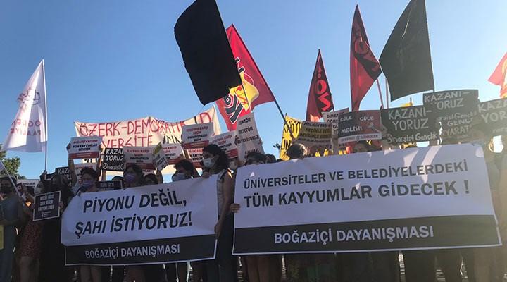 Boğaziçi Dayanışması: Taleplerimiz karşılanana kadar mücadelemiz sürecek