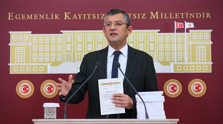 CHP'li Özel'den ittifak açıklaması