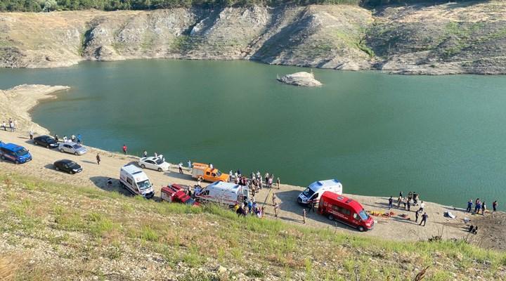 Amasya'da baraj gölünde aynı aileden 5 kişi boğuldu