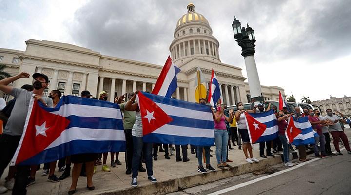 Dayanışmanın sembolüdür Küba