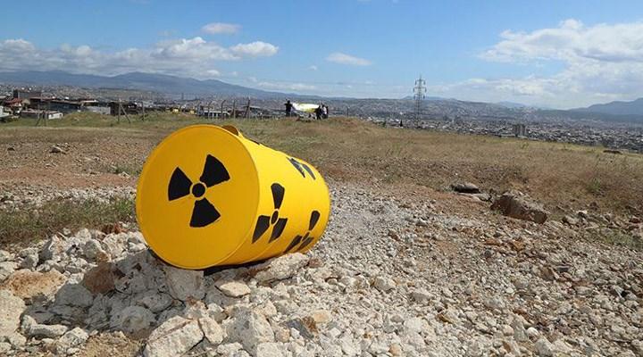 İzmir'deki nükleer atıklardan bakanlık sorumlu değilmiş!