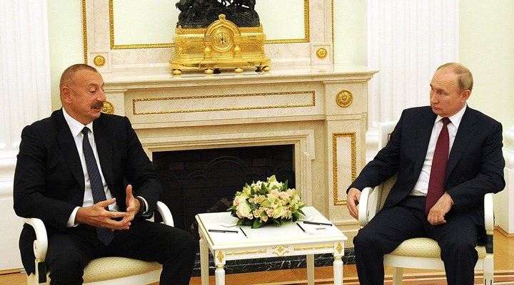 Putin ile Aliyev bölgesel sorunları görüştü: Sürekli temas halindeyiz