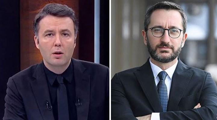 Habertürk sunucusu Mehmet Akif Ersoy da Fahrettin Altun'u kınadı