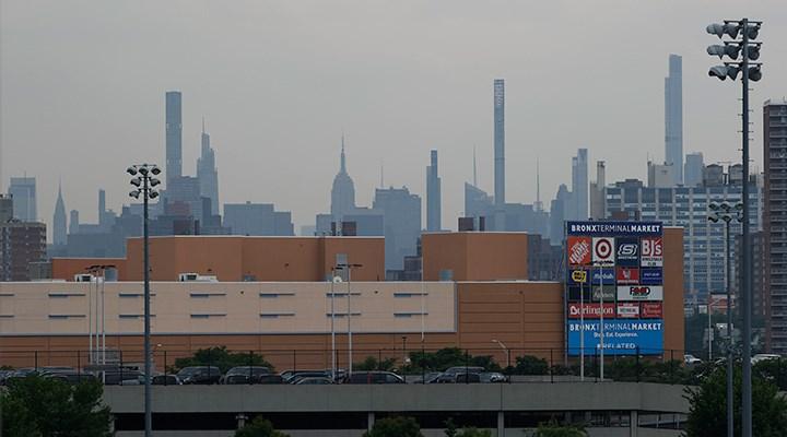 New York'un hava kalitesi kritik seviyenin altına düştü