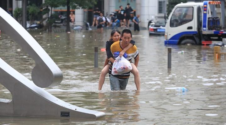 Çin'deki sel felaketinde ölenlerin sayısı 51'e yükseldi