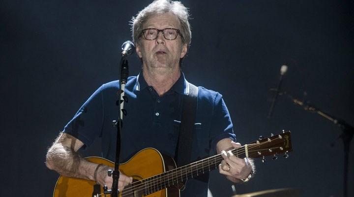 Eric Clapton: Aşının zorunlu olduğu yerlerde konser vermeyeceğim