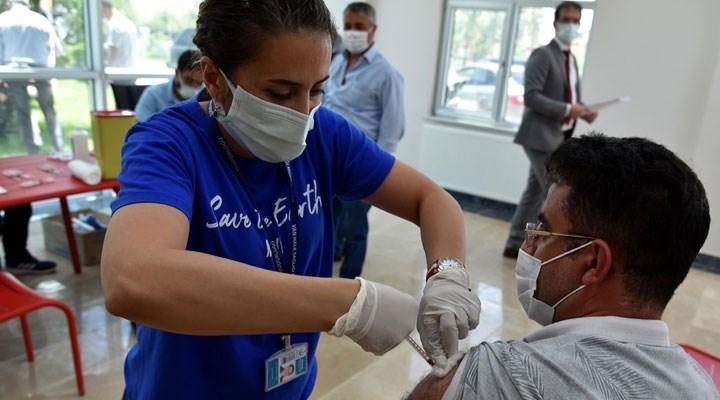 Tabip Odası'nın aşı bilgilendirmesi için stant açma isteği, Van Valiliği'ne takıldı