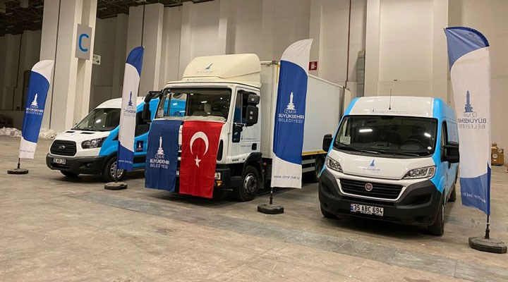İzmir Büyükşehir'den Arhavi'ye yardım eli