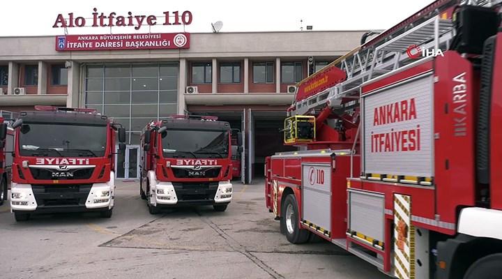 Ankara'da yangın söndürme sonrası fenalaşan itfaiye eri yaşamını yitirdi