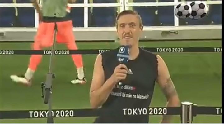 Eski Fenerbahçeli futbolcu Max Kruse'den Tokyo 2020'de Kürtçe evlenme teklifi