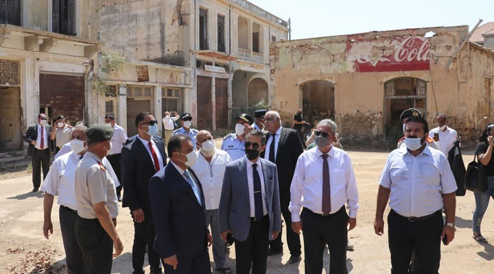 Kuzey Kıbrıs Başbakanı: Kapalı Maraş'ın yüzde 3,5'lik bölümünü açtık