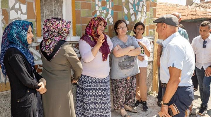 Tunç Soyer'den Kadifekale'ye sürpriz ziyaret
