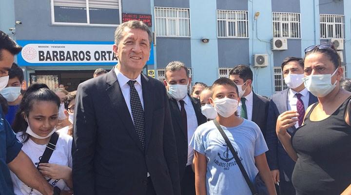 """Ziya Selçuk: """"Şu andaki bakış açımız okulların 6 Eylül tarihinde açılması yönünde"""""""