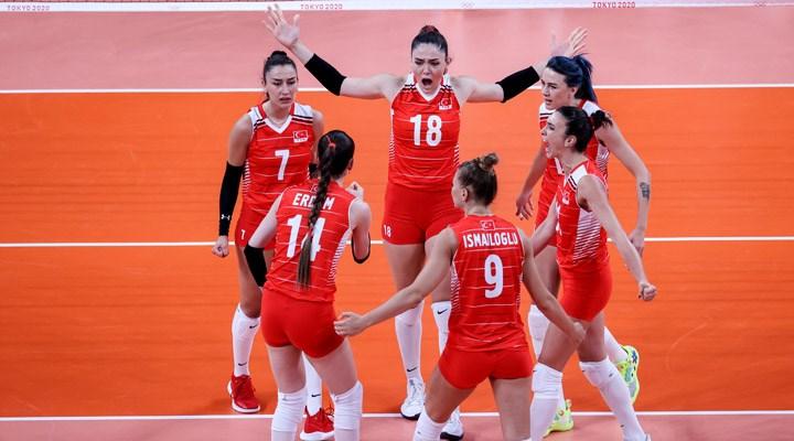 A Milli Kadın Voleybol Takımı, İtalya'ya 3-1 yenildi