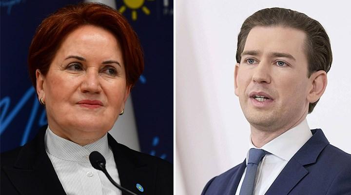 Akşener'den Avusturya Başbakanı Kurz'a: Size 3 milyar avro verelim