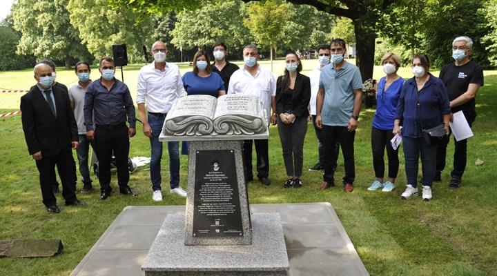Hamburg'da neonazilerin katlettiği işçi Mehmet Kaymakçı'nın anıtı dikildi: Artık unutulmayacak!
