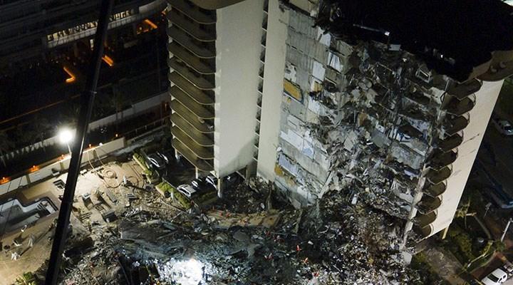 Miami'de çöken binadaki son kayıp kişi de ölü bulundu: Can kaybı 98 oldu