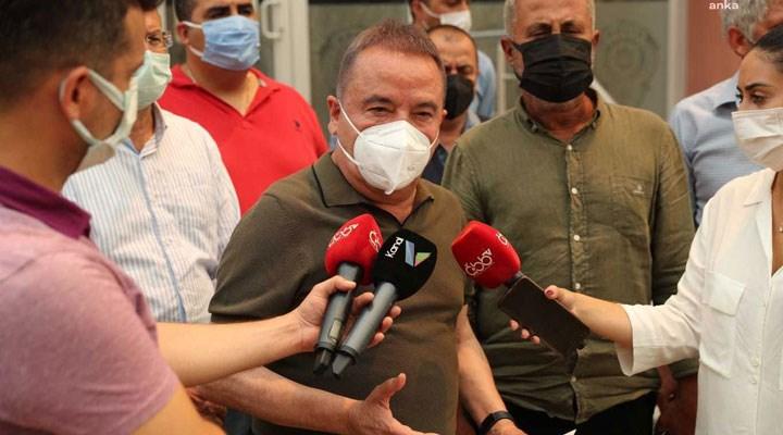 Antalya Büyükşehir Belediye Başkanı Böcek: 34 mahalle zarar gördü 18 mahalle tahliye edildi
