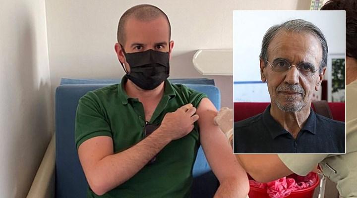 Prof. Dr. Mehmet Ceyhan'dan aşı karşıtlarına fotoğraflı yanıt
