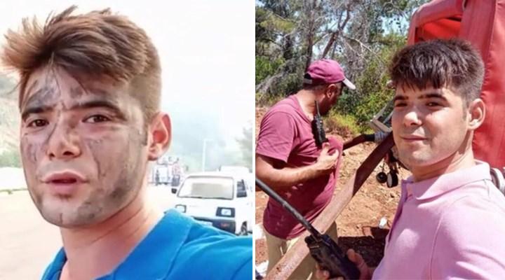 Gönüllü olarak itfaiyecilere yardım eden Köyceğizli Şahin Akdemir, yaşamını yitirdi