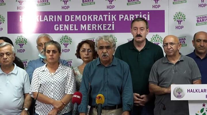 HDP'den Konya'daki katliama ilişkin açıklama: Ortada ciddi bir kaos planı var