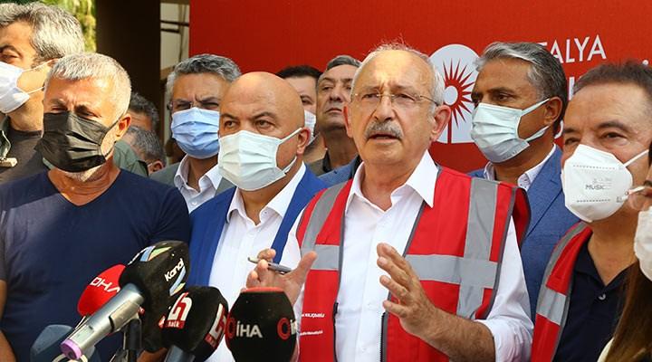Kılıçdaroğlu'ndan Erdoğan'a: Dünyadan haberi yok, THK'den hiç haberi yok!