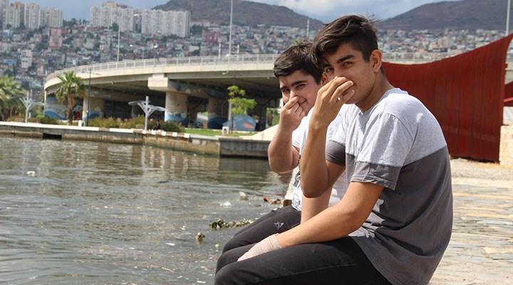 İzmir'de kötü koku yurttaşları rahatsız ediyor