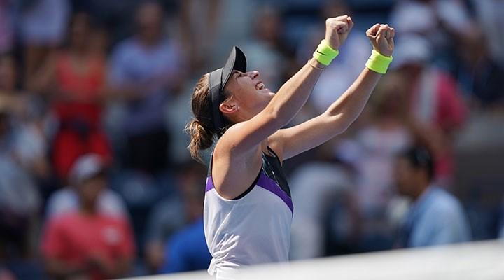 Teniste tek kadınlarda Belinda Bencic altın madalya kazandı