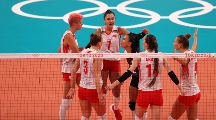 Türkiye voleybolda çeyrek finalde